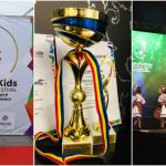 """Foto: A moștenit talentul părinților! Fiica soților Victoria și Veaceslav Ștefăneţ a luat trofeul la concursul internațional ,,MusicForKids – Iași 2019""""!"""