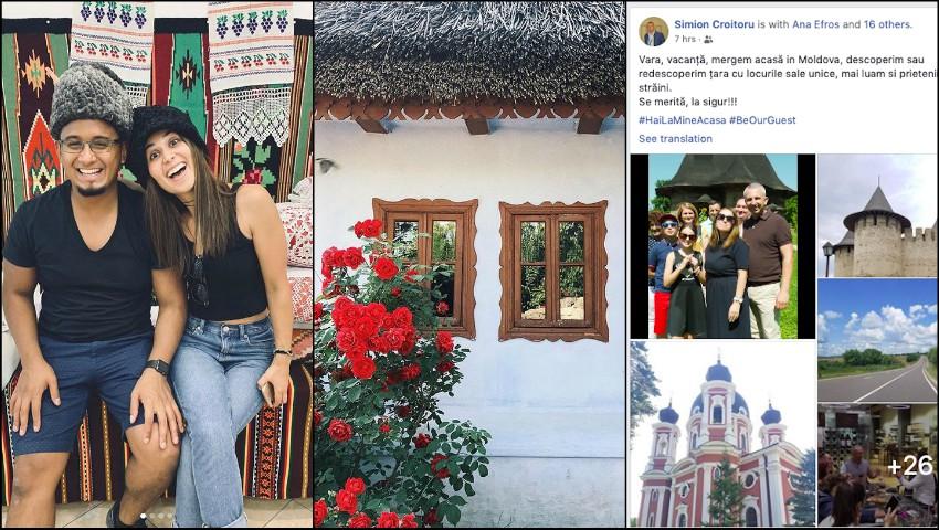 """Foto: Moldovenii din diaspora și-au invitat la baștină prietenii din străinătate. Primele roade ale campaniei ,,Hai la mine acasă""""!"""