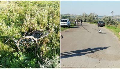 Un bărbat pe bicicletă a fost spulberat de un BMW, la Căușeni