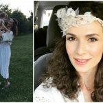Foto: Stela Mikșanski și-a botezat fetița. Și a îmbrăcat rochia de mireasă, din nou!