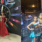 """Foto: Mădălina Lungu, eleva studioului artistic ,,Rodica Roșioru"""", câștigătoarea marelui premiu la un concurs de muzică din Macedonia!"""