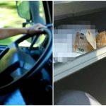 Foto: O șoferiță a aruncat în mașina poliției 100 de euro. A încercat să mituiască inspectorii de patrulare
