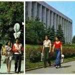 Foto: Orașul Chișinău, la începutul anilor '80. Imagini de arhivă
