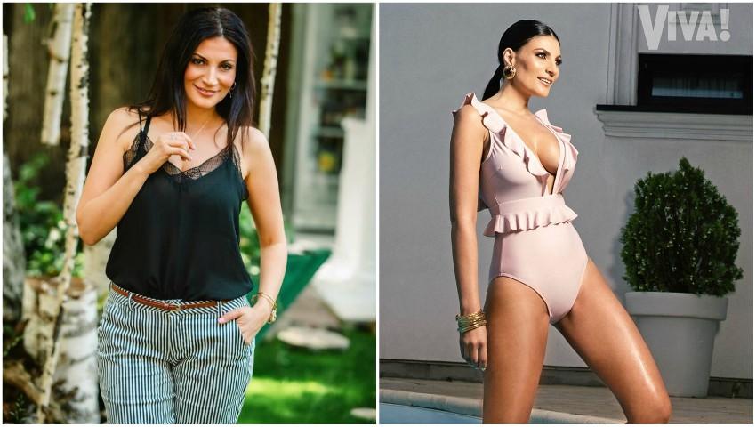 Foto: Actrița Ioana Ginghină a slăbit după divorț și apare în ipostaze îndrăznețe