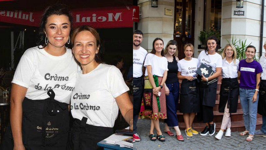 Foto: Sanda Diviricean, Lili Lozan și alte persoane publice, în rol de chelneri pentru o misiune nobilă!