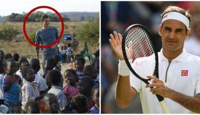Legendarul tenisman Roger Federer a donat 13,5 milioane de dolari și a deschis 81 de școli în Africa