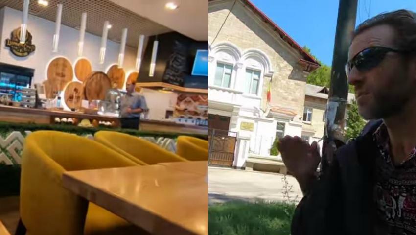 Foto: Un vlogger din California a vizitat Chișinăul. Ce le-a povestit celor peste 350.000 de abonaţi pe youtube?