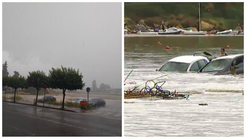 Foto: Alertă de călătorie în Spania din cauza fenomenului extrem DANA