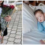 Foto: La un liceu din capitală, părinții sunt îndemnați să doneze bani în loc de flori, pentru a-l salva pe frățiorul a doi elevi din această școală!