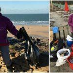Foto: O femeie, în vârstă de 70 de ani, a curățat 52 de plaje timp de un an
