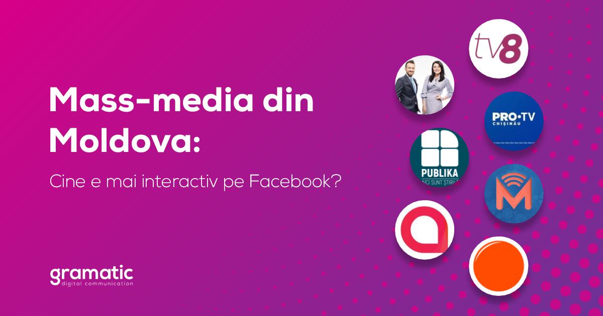 Foto: Unica.md se află în top cu cele mai multe interacțiuni pe Facebook