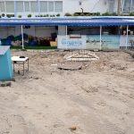 Foto: Plajele din regiunea Odessa, distruse după ploaia de ieri. Foto