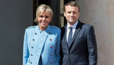 Emmanuel Macron, surprins la bustul gol! Președintele Franței are o condiție fizică excepțională
