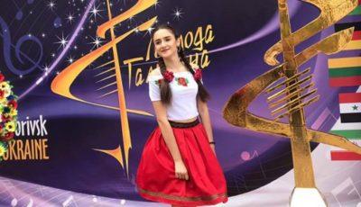"""Eleva liceului ,,Liviu Deleanu"""" din Chișinău este câștigătoarea concursului ,,The Magic Voice"""" din România!"""