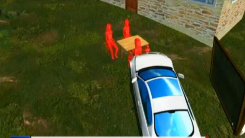 Foto: Filmul accidentului din Tulcea. Mașina a sărit peste o casă și a ucis 3 oameni care luau masa în curte
