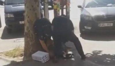 Poliția vine cu o precizare, în cazul bărbatului care vindea nuci în stradă