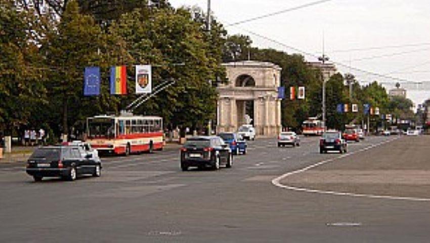 Foto: Circulația traficului rutier pe bulevardul Ștefan cel Mare și Sfânt, sistată timp de 4 zile