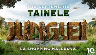 """Noul an școlar începe cu """"Jungle Kids"""" – o aventură educațională la Shopping MallDova"""