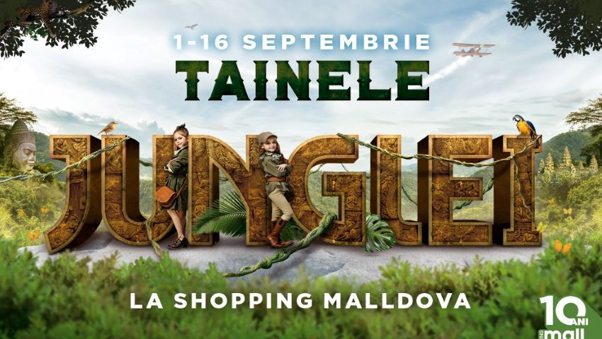 """Foto: Noul an școlar începe cu """"Jungle Kids"""" – o aventură educațională la Shopping MallDova"""