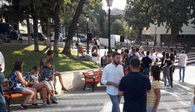 În Capitală a fost inaugurat scuarul Cehov, un nou loc de recreere pentru chișinăuieni! Foto