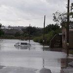 Foto: Belgorod-Dnestrovsk, drumul pe care moldovenii merg la mare în Ucraina, a fost inundat