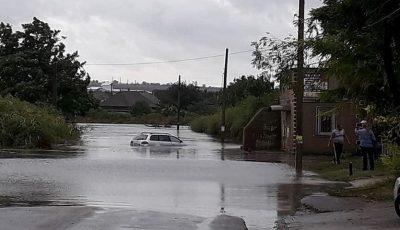 Belgorod-Dnestrovsk, drumul pe care moldovenii merg la mare în Ucraina, a fost inundat