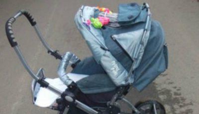 Un bebeluș din Ungheni a murit în drum spre spital, după ce a căzut din cărucior