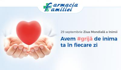 Avem #grijă de inima ta în fiecare zi