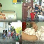 Foto: La 35 de ani, a devenit mămică pentru a 11-a oară! Povestea a doi soți din raionul Hâncești