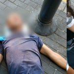 Foto: Moldoveanul care și-a pierdut cunoștința pe o stradă din Israel a fost identificat