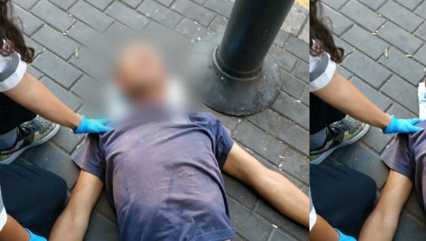 Foto: Moldovenii stabiliți în Israel cer ajutor pentru identificarea unui conațional care și-a pierdut cunoștința pe stradă