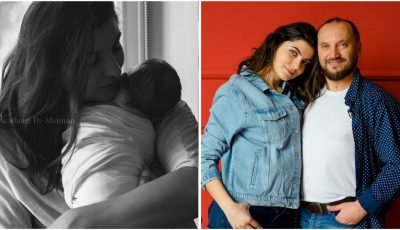 Olesea Sveclă, în prima ședință foto alături de fiul ei nou-născut!