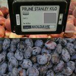 Foto: Prune moldovenești, în magazinele din Paris!