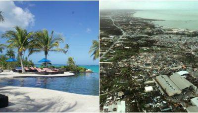 Dezastru în Bahamas. Aproape jumătate dintre case, distruse de uraganul Dorian