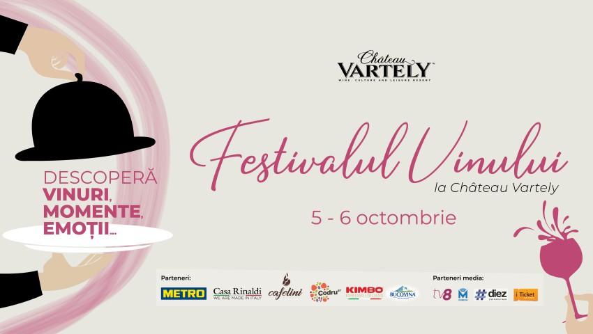 Foto: Festivalul Vinului la Château Vartely