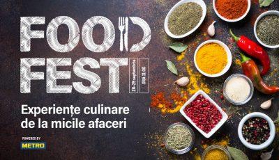Gustă din cel mai delicios weekend al toamnei – METRO FOOD FEST!