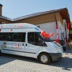 Foto: Video. Emoții și bucurie! Copiii cu nevoi speciale, în prima lor excursie la ZOO cu microbuzul propriu