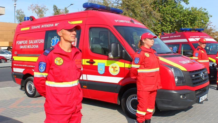 Foto: La Cahul a fost inaugurat SMURD (Serviciul Mobil de Reanimare și Descarcerare) zona Sud