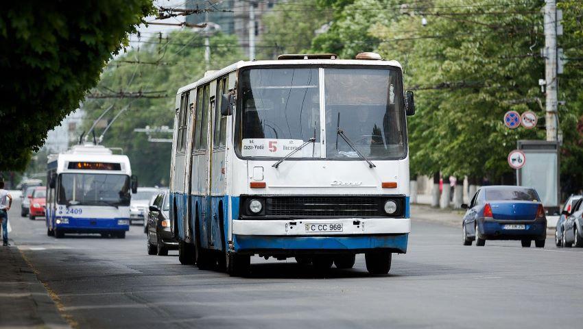 Foto: O călătorie cu autobuzul, în municipiul Chișinău, ar trebui să coste cel puțin 10 lei