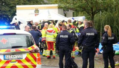 Germania: 14 oameni au fost răniți grav după explozia unei tigăi la un târg culinar