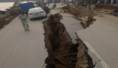 Cutremur puternic, produs în Pakistan. Imagini șocante după seism