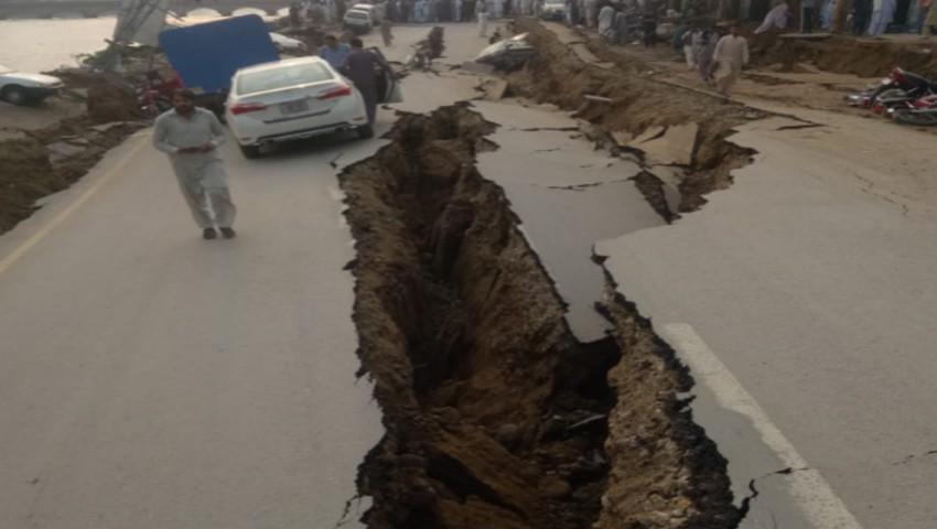 Foto: Cutremur puternic, produs în Pakistan. Imagini șocante după seism