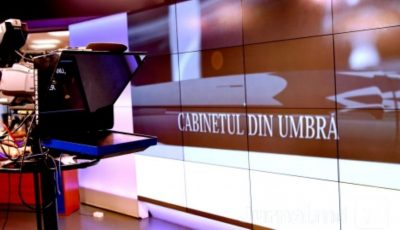 """Iată cine este noul prezentator al emisiunii ,,Cabinetul din umbră"""" de la Jurnal TV!"""
