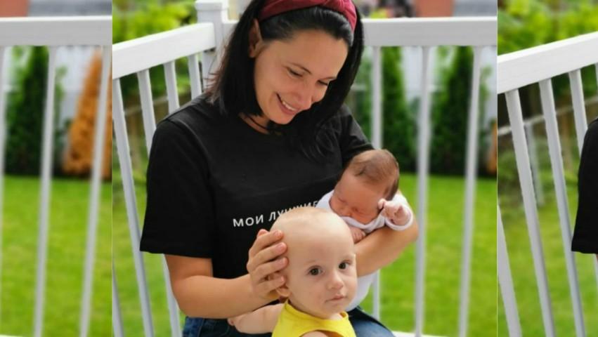 """Foto: Bucurie în familia Natei Albot: ,,Familia noastră montrealeză s-a făcut mai bogată"""""""