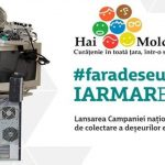 """Foto: ,,Hai Moldova"""" lansează Campania națională de colectare a deșeurilor electronice!"""