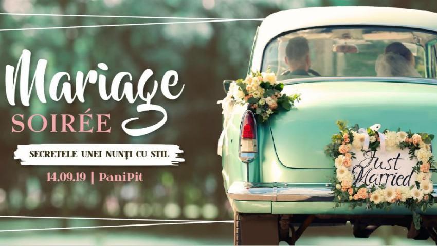 Foto: La Mariage Soiree, vedetele vor defila în ținute de ocazie – vino la eveniment și află care sunt secretele unei nunți cu stil!