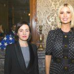 Foto: Ivanka Trump, într-o poză istorică alături de Maia Sandu!