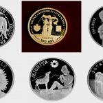Foto: BNM a pus în vânzare noi monede jubiliare și comemorative. Vezi ce simbolizează și care este prețul acestora!