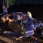 Foto: Un Mercedes cu 5 pasageri, distrus complet la Criuleni. Șoferul era în stare de ebrietate