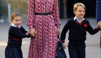 Prințesa Charlotte a mers prima zi la școală. Cum au pregătit-o părinții săi pentru acest eveniment?
